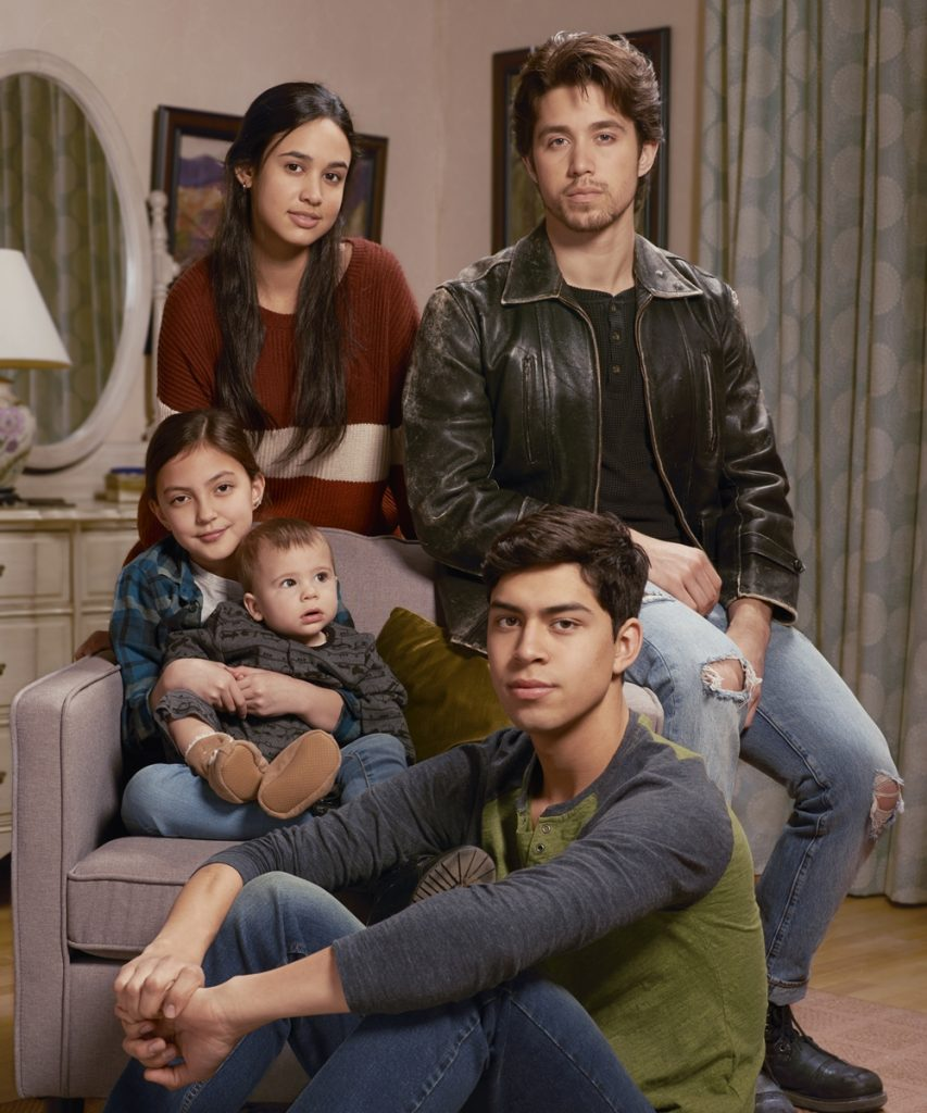 Acosta Family in Party of Five