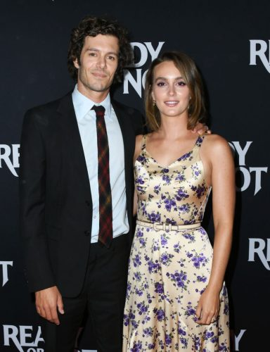 Adam Brody and Leighton Meester at the LA screening of 'Ready Or Not' on Aug. 19, 2019