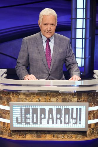 Alex Trebek during 'Jeopardy! The Greatest of All Time' on Dec. 9, 2019
