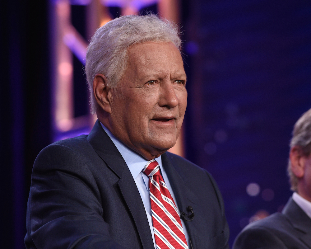 Alex Trebek speaks about cancer at TCA