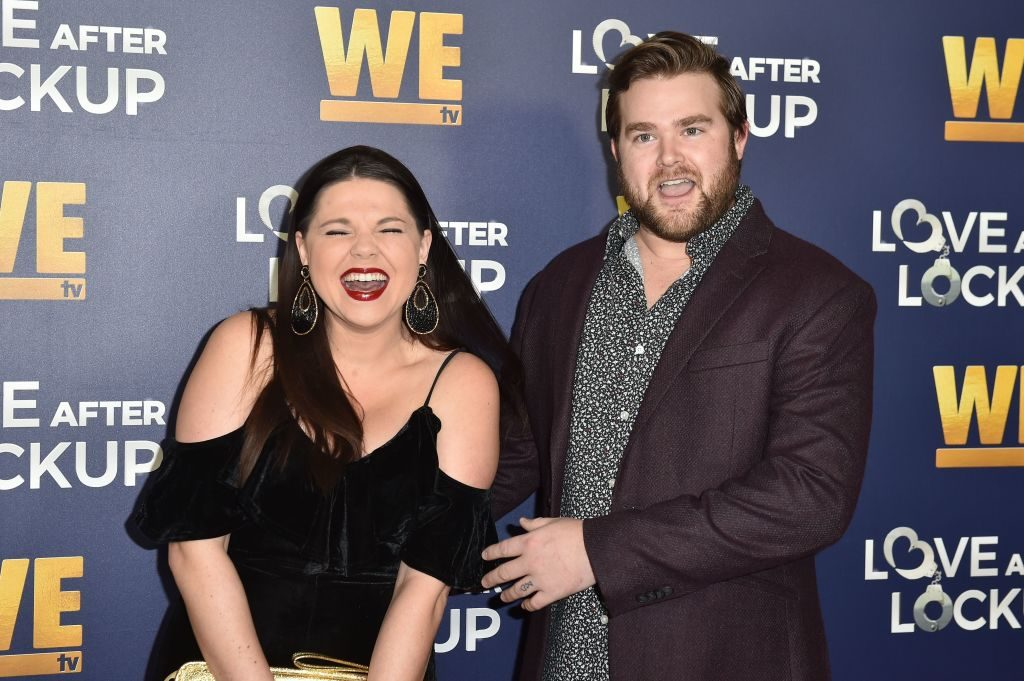"""Amy Duggar and Dillon King arrive for WE tv celebrates the return of """"Love After Lockup"""""""