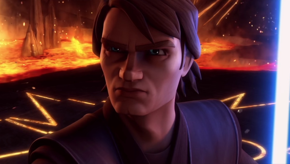 Anakin meets the Son on Mortis, 'The Clone Wars' Season 3.