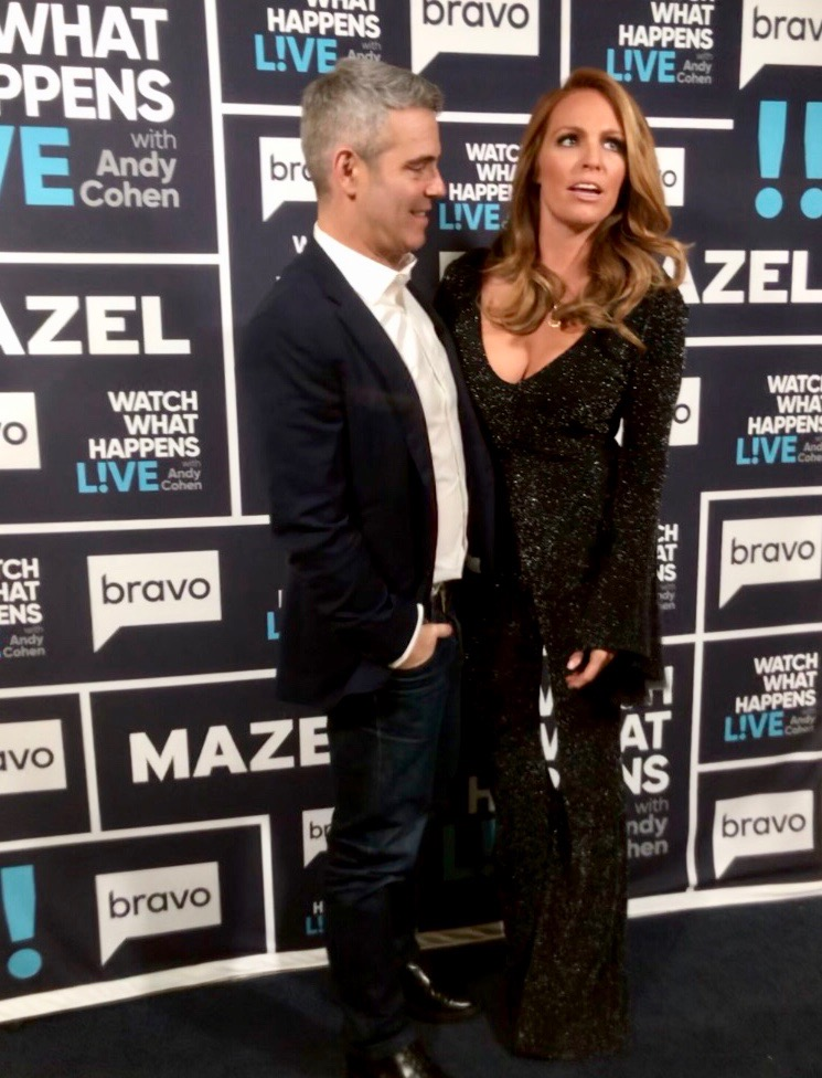Andy Cohen and Rhylee Gerber
