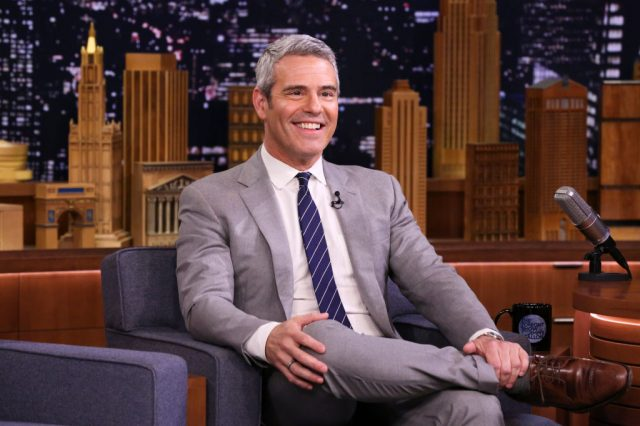 Andy Cohen on 'The Tonight Show Starring Jimmy Fallon' on April 18, 2019