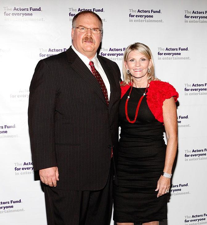 Andy Reid and Tammy Reid