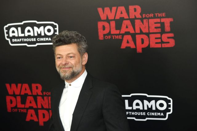 Andy Serkis at the 'War for the Planet Of The Apes' premiere