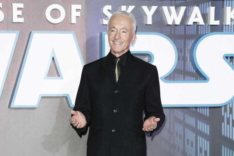 Anthony Daniels on the red carpet