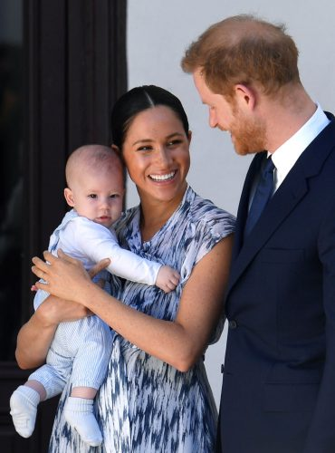 Archie Harrison Mountbatten-Windsor, Meghan Markle, Prince Harry in South Africa on Sept. 25, 2019