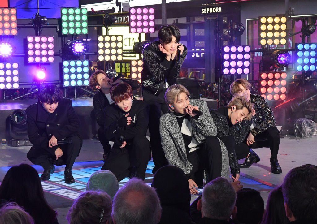 """BTS performs at ABC's """"Dick Clark's New Year's Rockin' Eve with Ryan Seacrest 2020"""""""