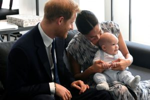 Prince Harry Reveals Baby Archie's Adorable First Encounter With Snow