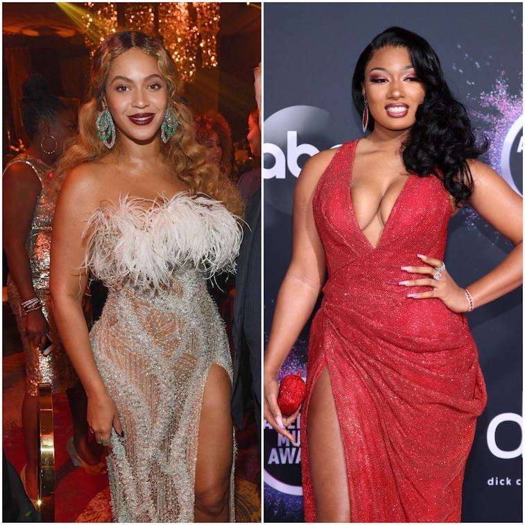 Beyoncé and Megan Thee Stallion