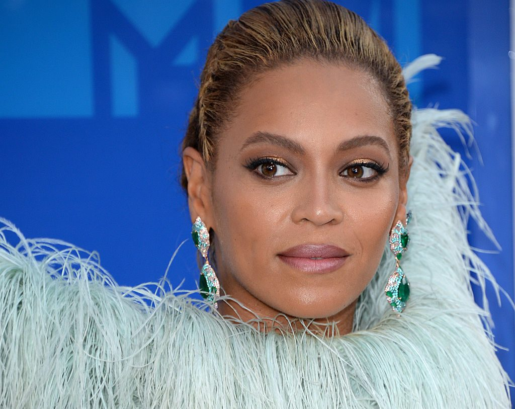 Beyoncé on the red carpet in 2016