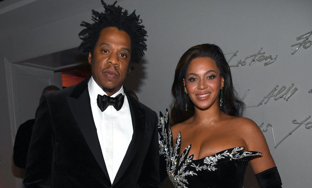 Jay-Z and Beyoncé at a party in December 2019