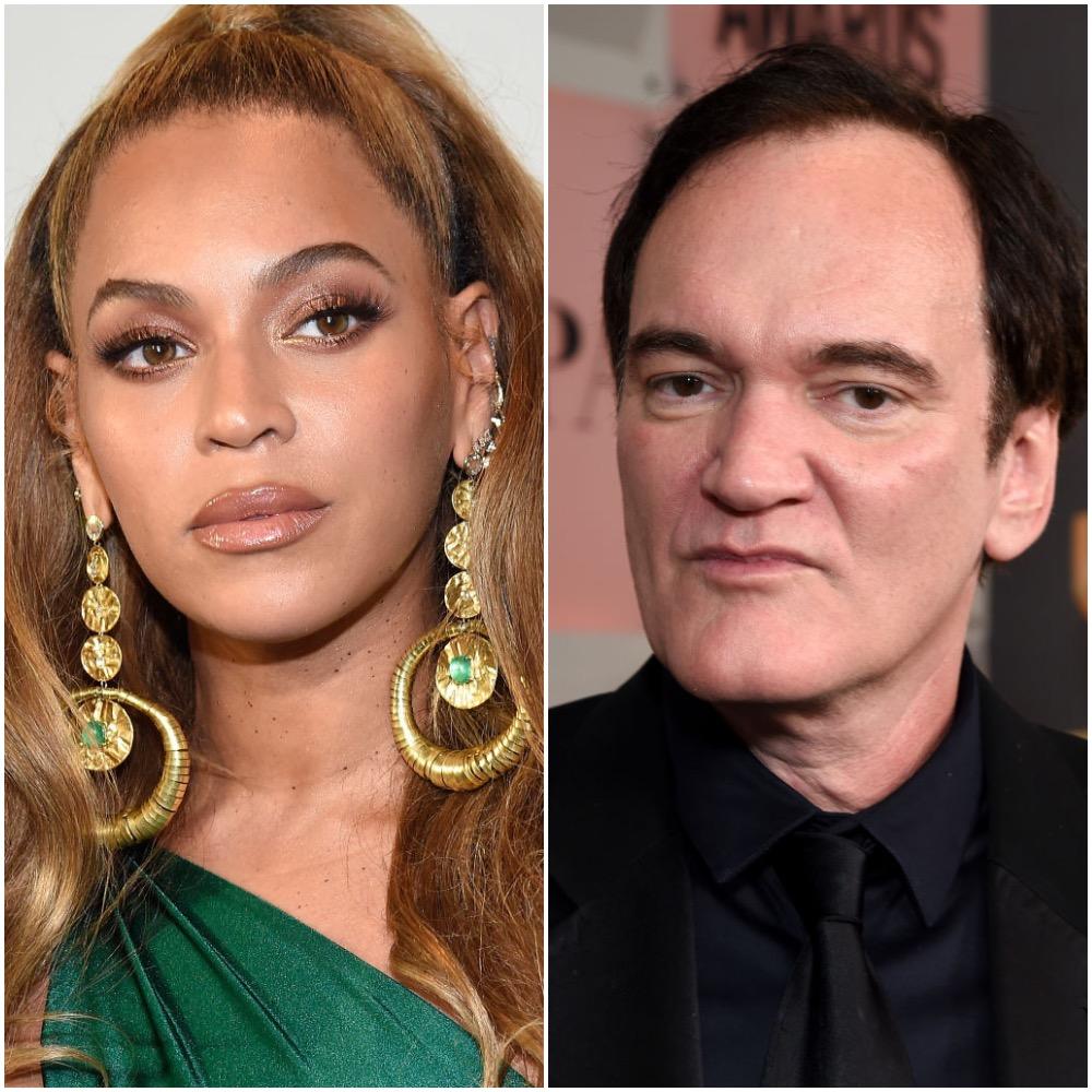 Beyoncé and Quentin Tarantino