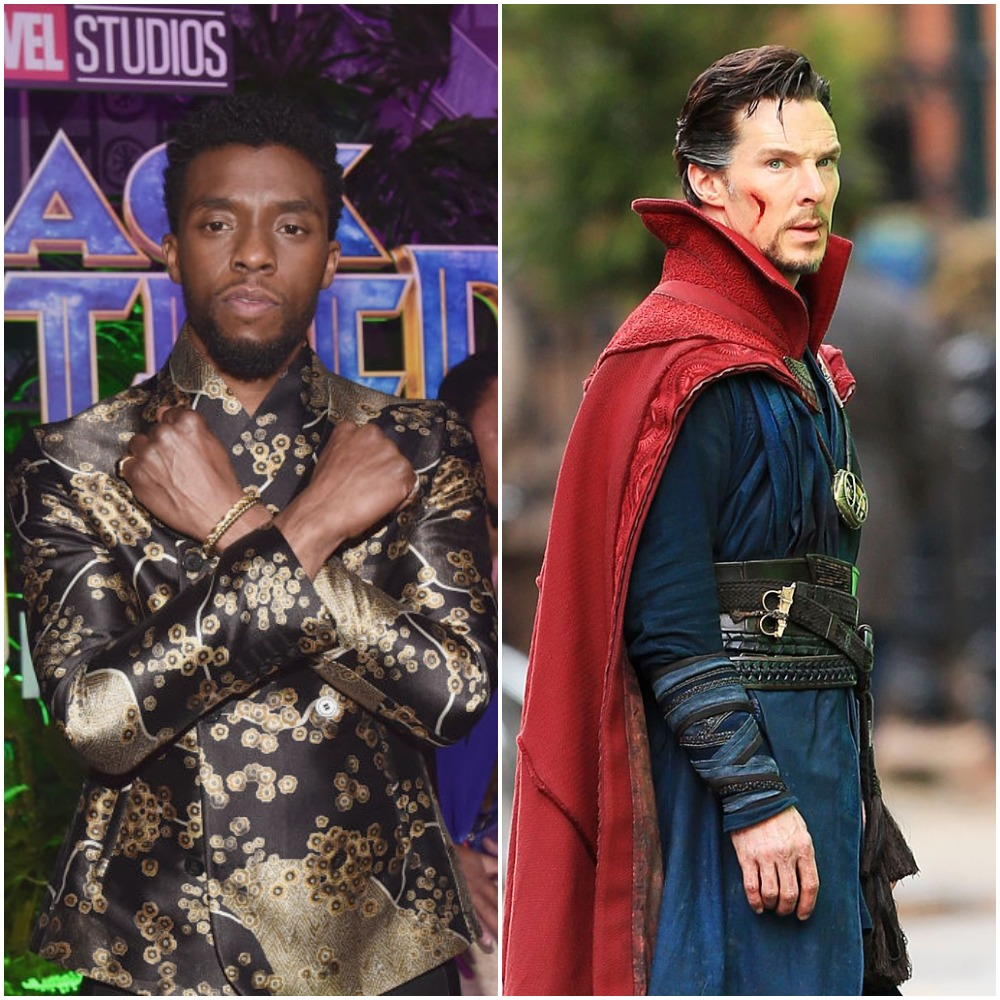 Black Panther and Doctor Strange of the MCU