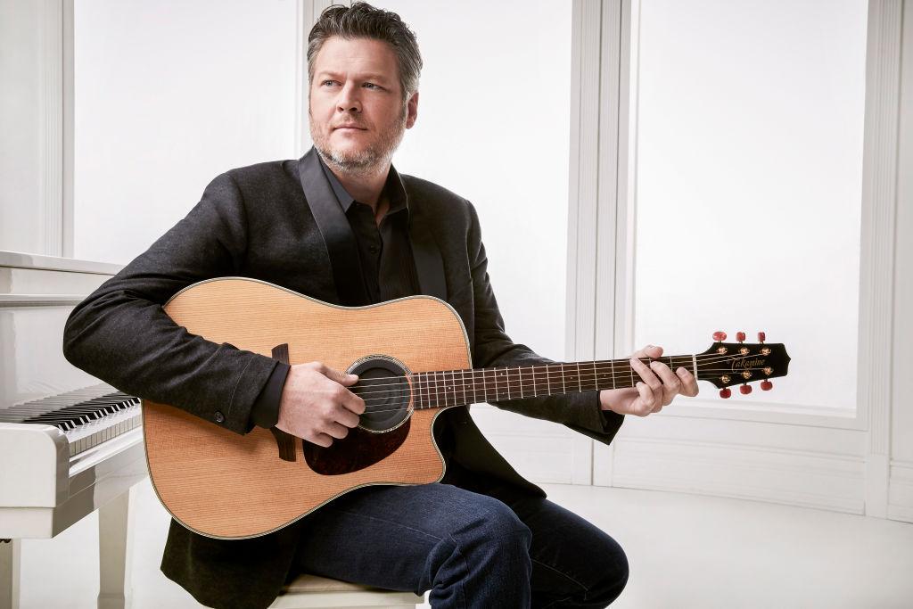 Blake Shelton performs onstage