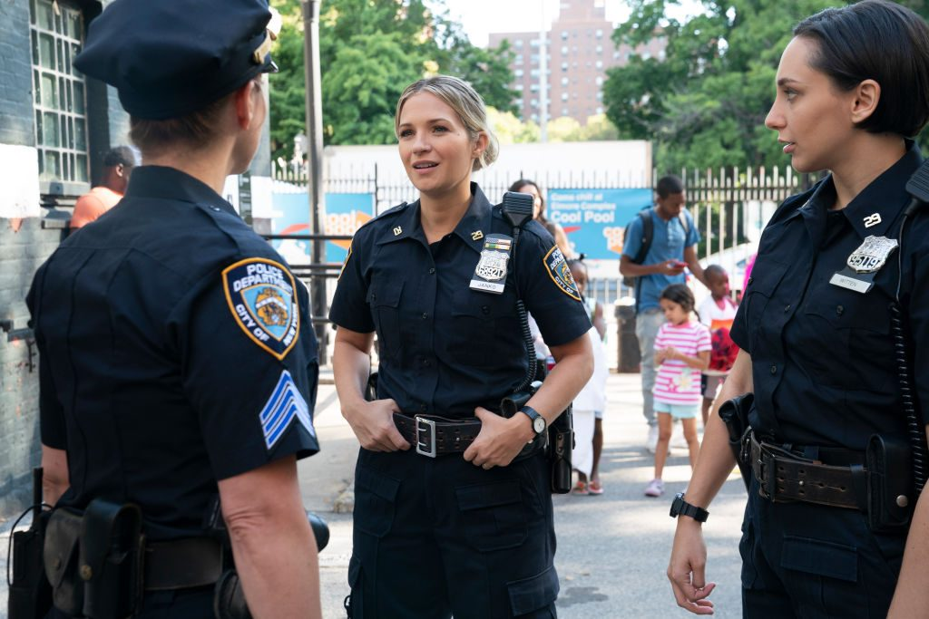 Vanessa Ray as Eddie Janko, Lauren Patten as Officer Rachel Witten on 'Blue Bloods'