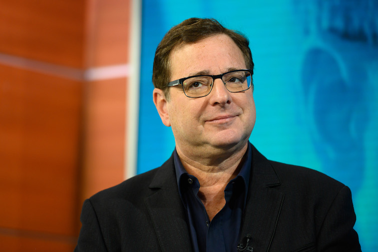 Bob Saget on the Today show