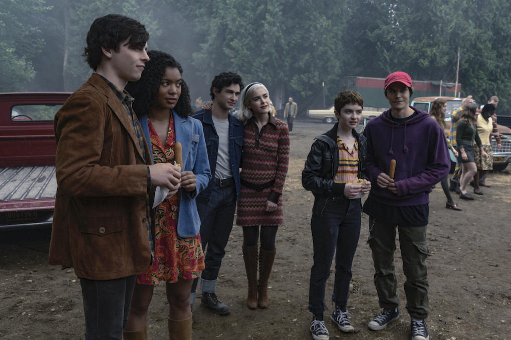 Sabrina and friends go to the new carnival in town, 'CHILLING ADVENTURES OF SABRINA.'