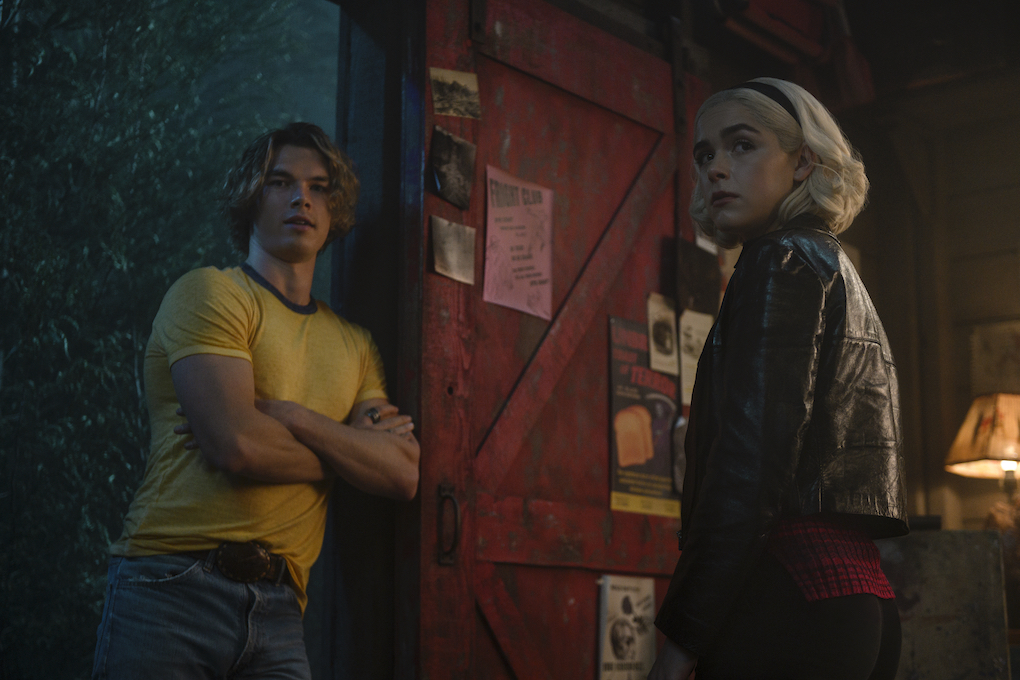 Caliban comes to Sabrina's aid to help Roz in 'CHILLING ADVENTURES OF SABRINA.'