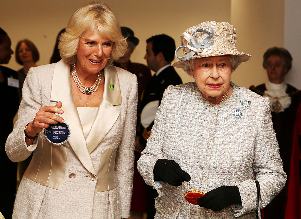 Camilla and Queen Elizabeth