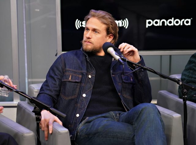 Charlie Hunnam is interviewed by Andy Cohen