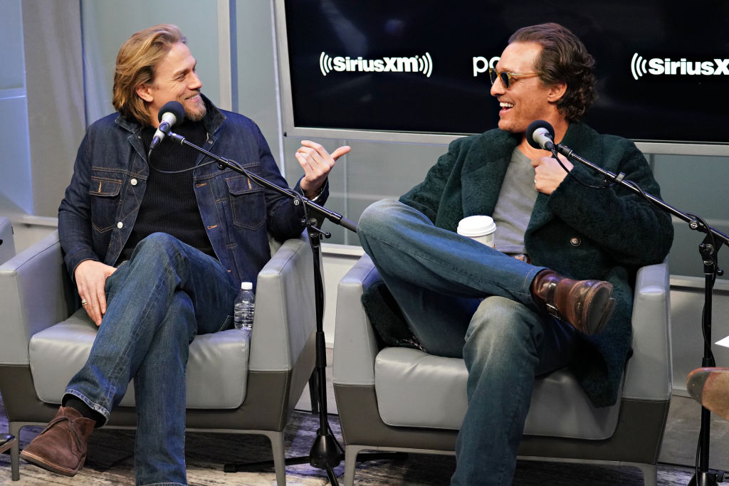 Charlie Hunnam and Matthew McConaughey