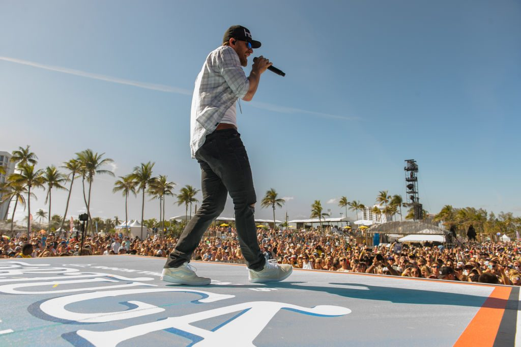 Chase Rice performs at Tortuga Music Festival in 2018 |  Jason Koerner/Getty Images