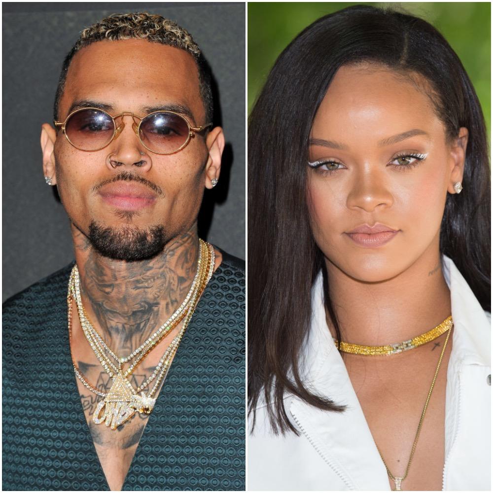 Chris Brown Reportedly Had an Awkward Reaction to Rihanna