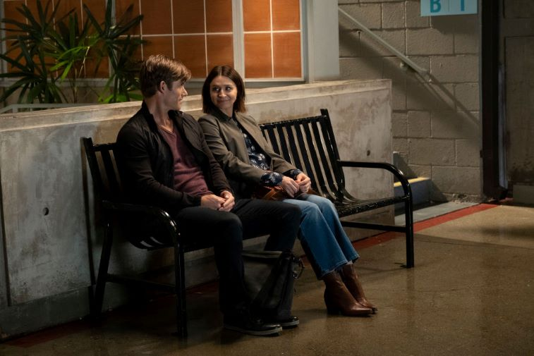 Chris Carmack and Caterina Scorsone