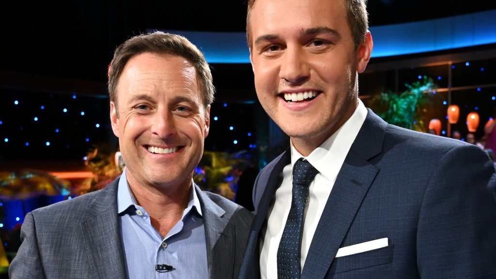 Chris Harrison and Peter Weber on 'Bachelor in Paradise' Reunion Show