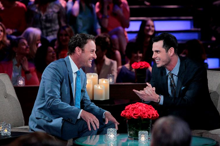 Chris Harrison and Ben Higgins
