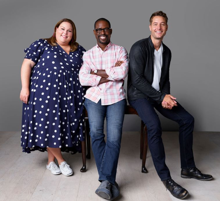 Chrissy Metz, Sterling K. Brown and Justin Hartley