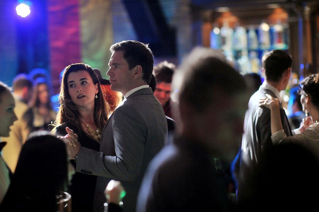 Cote de Pablo and Michael Weatherly on NCIS. | Richard Foreman/CBS via Getty Images