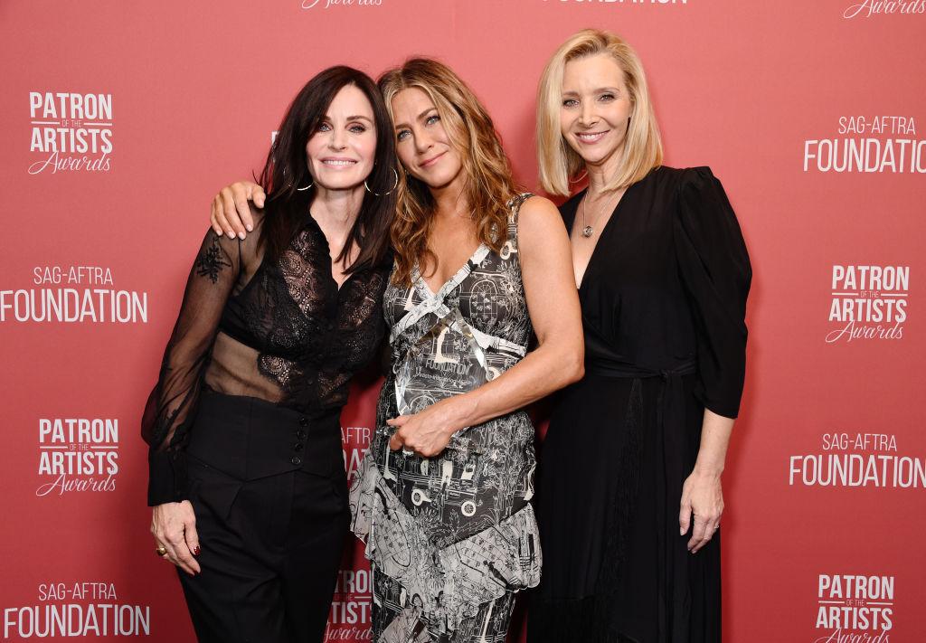 Courtney Cox, Jennifer Aniston, and Lisa Kudrow