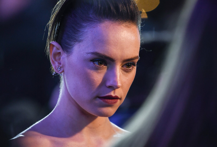 Daisy Ridley on the red carpet