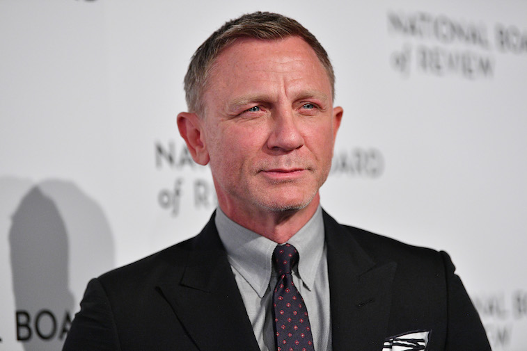Daniel Craig on the red carpet