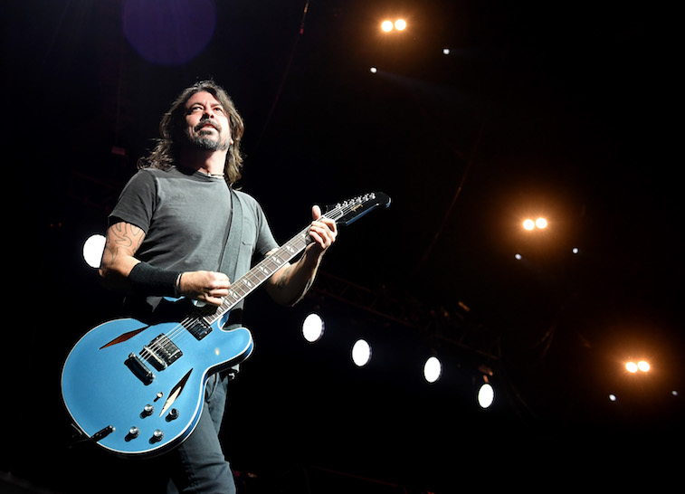 Dave Grohl performs onstage