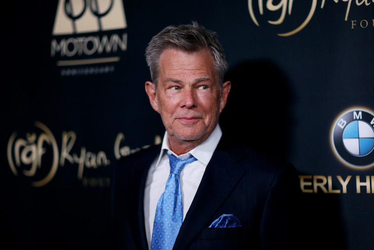 David Foster on the red carpet