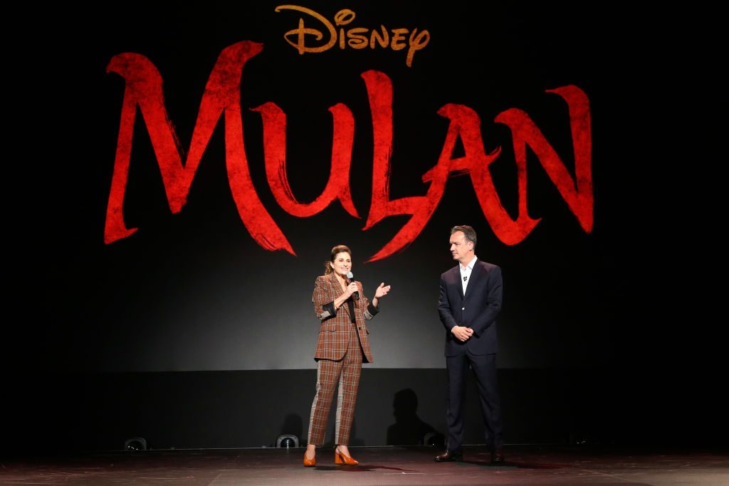 Director Niki Caro of 'Mulan' and President of Walt Disney Studios Motion Picture Production Sean Bailey