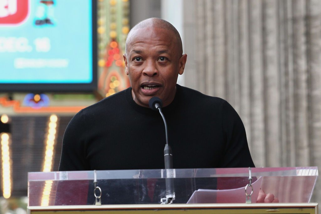 Dr. Dre at an event