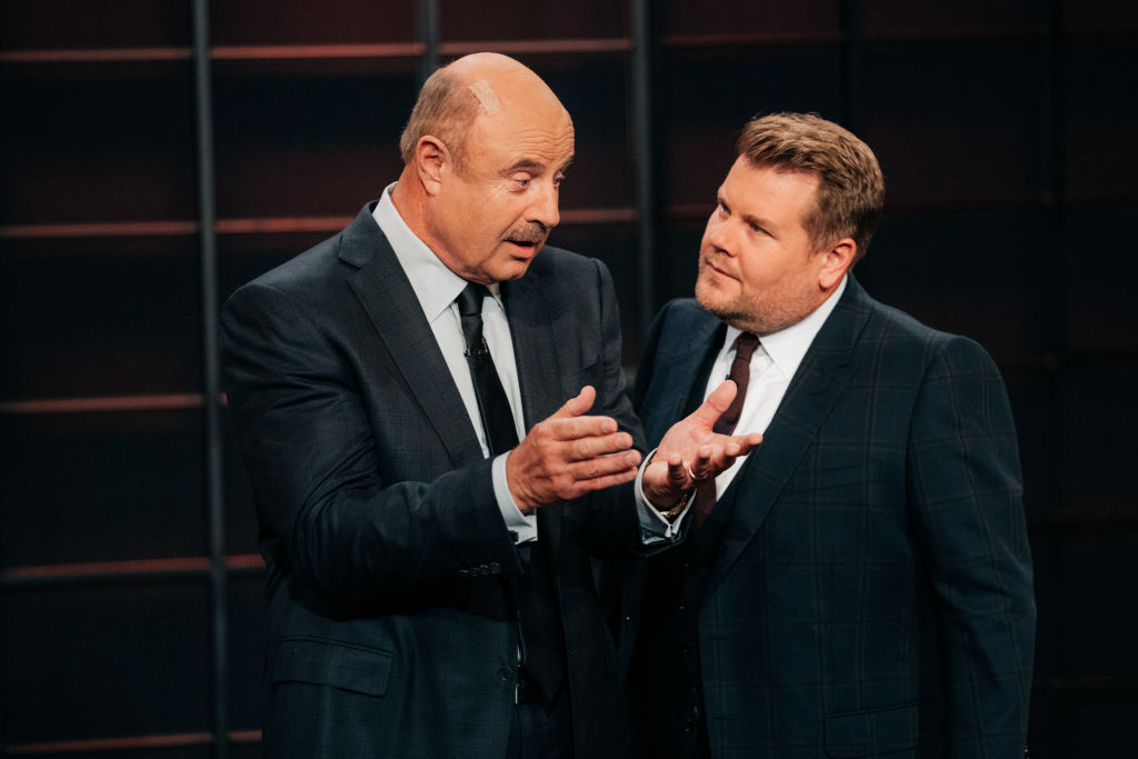 Dr. Phil and James Corden