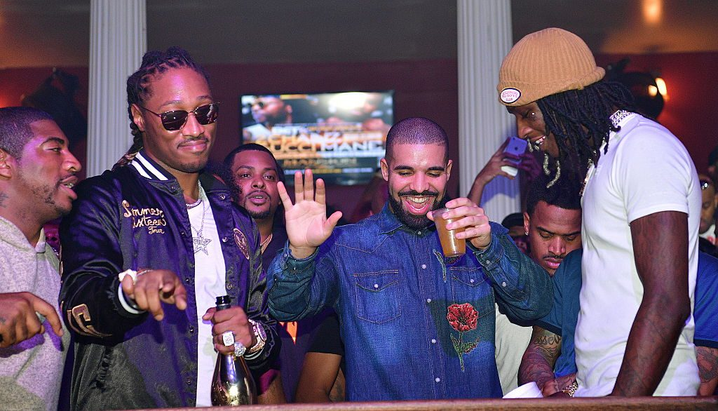 Drake and Future attend the Summer Sixteen Concert After Party