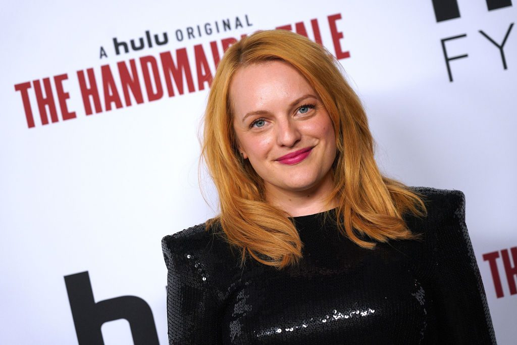 Actor Elisabeth Moss attends Hulu's 'The Handmaid's Tale' FYC Event at AMPAS Samuel Goldwyn Theater on June 7, 2018 in Beverly Hills, California.