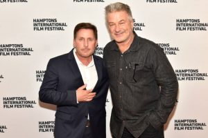 Emilio Estevez on His 'Bromance' With Alec Baldwin and Being 'Scared of Him at First'