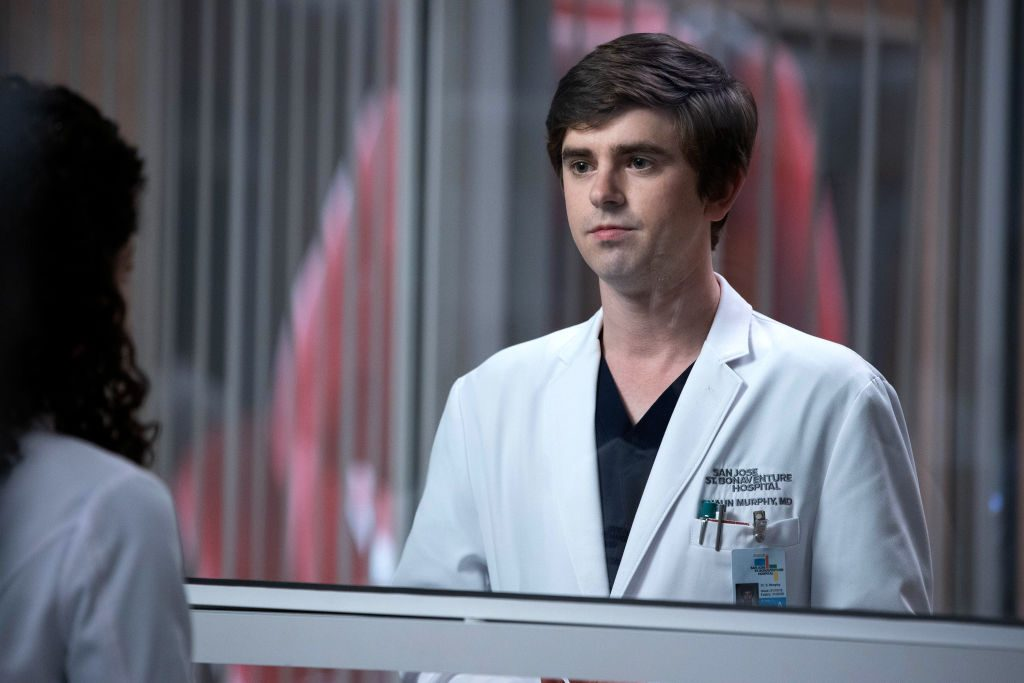Freddie Highmore on The Good Doctor | Jack Rowand/ABC via Getty Images