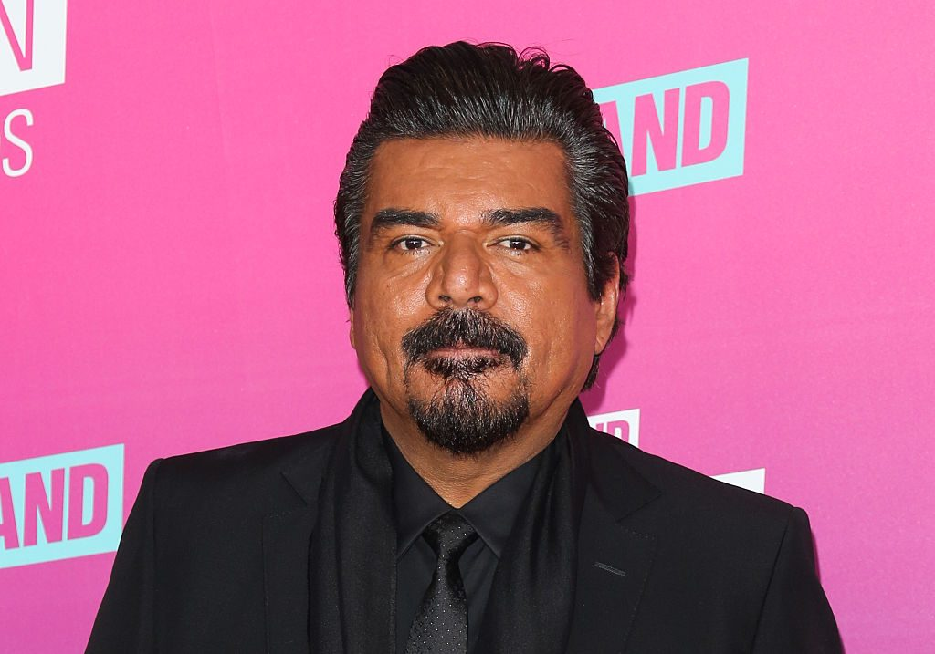 George Lopez on the red carpet