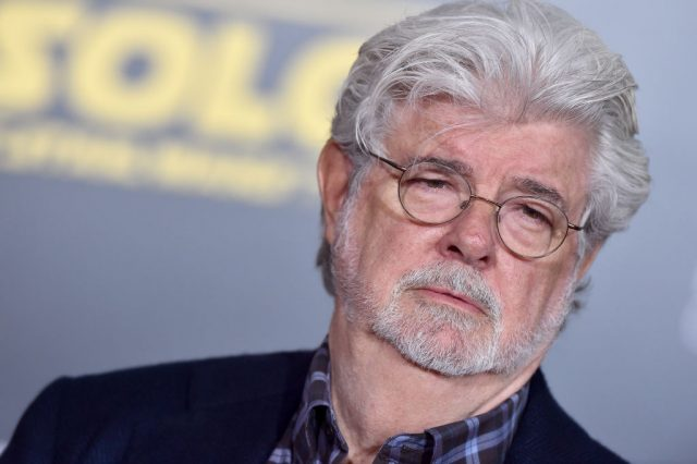 George Lucas at the Solo: A Star Wars Story' premiere
