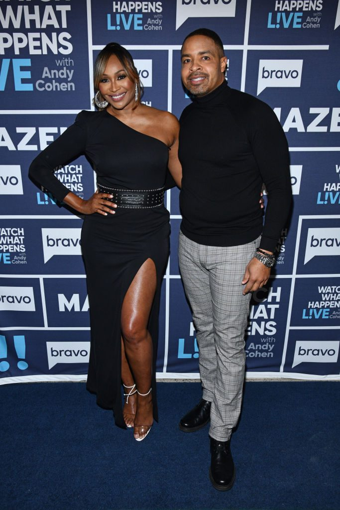 Cynthia Bailey and Mike Hill