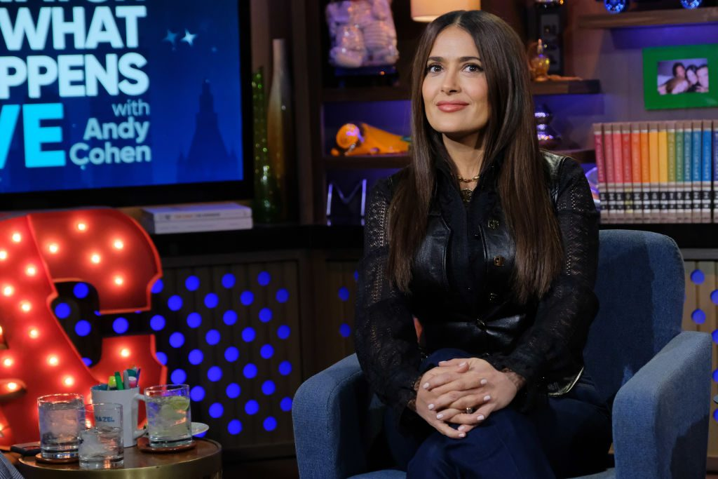 Salma Hayek on 'Watch What Happens Live With Andy Cohen'